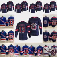 13 Alexis Lafreniere New York Rangers 2021 عكس الرجعية Artemi Panarin Kaapo Kakko كريس Kreider Mika Zibaneja Gretzky Messier Jersey