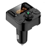 Lecteur MP3 de voiture Audio Musique sans fil Musique sans fil FM Transmetteur LCD Chargeur USB Accessoires1
