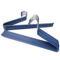 İleri Ters Kanca Pantolon Rafları Paslanmaz Çelik Z Şekilli Kalınlaşma Ceket Pantolon Raf PVC Reçine Askıları Dayanıklı 1 78rm G2