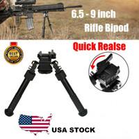 V8 riflescope bipod bipods tácticos para el rifle de caza Ajustable Retorno de primavera con adaptador Accesorios de caza Accesorios de rifle de aire