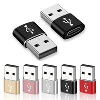 유형 C OTG 어댑터 USB 남성 USB-C 암 변환기 케이블 커넥터에 대한 삼성 Xiaomi Type-C 데이터 충전기