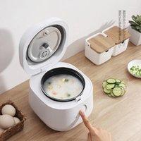 Fogão de arroz elétrico multifuncional Mini arroz multicooker 1.2L Smart pote almoço de timing aquecedor multicooker fogão1