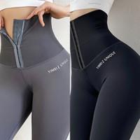 Pantalon de yoga haute taille XXXL Plus Taille Sport Leggings Collants de compression Push Up Femme Femme Gym Fitness Personnalisation Plus Taille J1216