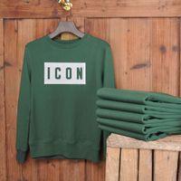 DSQICOND2 Tasarımcı Hoodie Bireysel Kaya erkek T-Shirt Kazak Mektup Baskı Moda Rahat Kazak Uzun Kollu Çift Kazak S-3XL