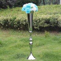 Свадебный металлический цветок ваза таблица центральные украшения для свадебных событий вечеринка дорожная ведущая цветочная стойка для дома украшения для дома 88см высокий