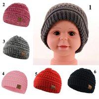 Dzieciak dzianina szydełkowa czapka kapelusz super gwiazda dziewczyna zima ciepła moda kopuła hełm dziecko sport narciarski sportowiec