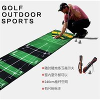 Tapete Mini Putting Ball Pad Mat Indoor Golf Outdoor Golf Prática Verde Máquina de Escritório Lavável 201124