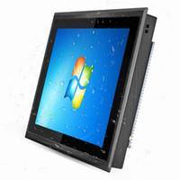 MINI PCS 10 12 15 15 17 pollici Pannello industriale PC impermeabile, antipolvere, raffreddamento a ventola Capacitivo Touch 8G RAM 128GB SSD Windows Pro