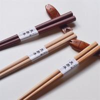 إعادة الاستخدام المصنوع يدويا عيدان اليابانية الخشب الطبيعي خشب الزان عيدان السوشي أدوات الغذاء الطفل تعلم باستخدام عيدان 18 سنتيمتر DWA2696