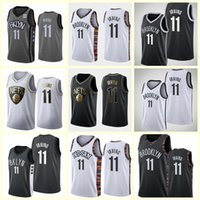 HomensBrooklyn.RedesKyrie.Irving Court Basketball Jersey; O homem do balanço costura uma camisa de basquete