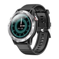 2021 New Smart Watch Black Impermeable Mens Sport Watches Touch Pantalla Multifunción Hanbelson