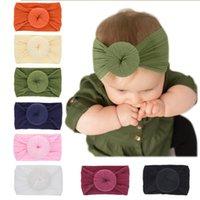 Haarschmuck 1 Stück Lytwtw's baby mädchen stirnband kleidung donut geboren tiara headwrap infant haarband geschenk headwear