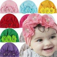 Baby Color Pure Gasiffon Sombreros Forma de Flores Forma Niños Cálido Moda Hacerte Niños Artículos Multicolor Venta Caliente 3 95AX J2