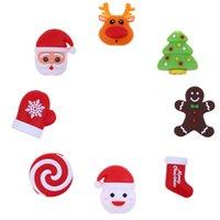خط البيانات حامي عيد الميلاد جميل الكرتون USB كابل دغة سانتا كلوز شجرة الغزلان اللعب شاحن حامل الحيوانات الحبل مع مربع التجزئة