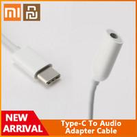 Originale Xiaomi Youpin Type-C a Audio maschio a 3,5 mm Adattatore audio Tipo C A 3,5 Cuffie AUX MI 6 A2