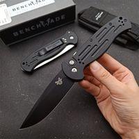 Benchmade BM 9051 AFO II AUTOMÁTICO AUTOMÁTICO AUTOMÁTICO EDC Táctico Supervivencia Pocket Cuchillo de bolsillo 60 HRC 154CM Blade T6061 Manija de aluminio 9400 3300 3551 535 Cuchillo