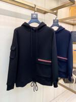 Человек дизайнеры одежды капюшон жаккардовые куртки мужские зимние пальто мужчин дизайнеры свитера мужская одежда черный синий