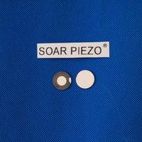 20 mm à ultrasons Mist génération Piezo 2.4MHz Humidifier Fuzed verre Glaze Nébuliseur disque Vaporiser atomise Capteur Piezo diffuseur en céramique