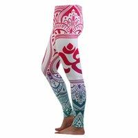Abiti da yoga jigerjoger inverno rosso om shanti leggings da donna Plus size XL fitness pantaloni da corsa palestra Pennello morbido atletico