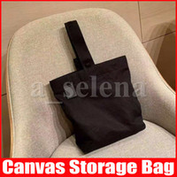 Multipurpose Soft Canvas Bag Capacity Makeup Bag Totes Make ...