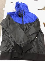 Mens 브랜드 재킷 2019 봄 새로운 옷 패션 컬러 블록 자켓 캐주얼 지퍼 스포츠 팬 클럽 스포츠 축구 후드