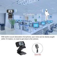Caméra Web 1080p HD Webcam Desktop ordinateur portable USB2.0 720P webcam micro intégré MIC pour la diffusion en direct Calling en ligne Leçon1