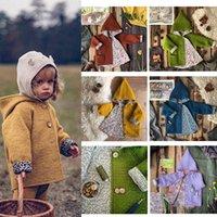 Enkelibb 70% шерсть Высококачественные детские шерстяные пальто Kleine Schobbejak бренд ребенка мальчики девочки хранят теплые джеквены зимние пальто со шляпой 201110