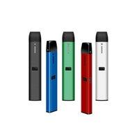 일회용 vape 펜 dcpod vape 키트 210mAh 충전식 사각형 세라믹 코일 DAB 펜 예열 잠금 장치가있는 두꺼운 오일 CO2 용