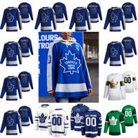 토론토 메이플 leafs 2021 Reverse Retro Hockey Jerseys 97 Joe Thornton Auston Matthews John Tavares Mitchell Marner Frederik Andersen 사용자 정의