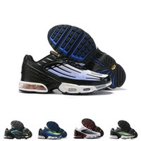 TN Plus 3 3 III Scarpe da corsa Mens Neon Blue Triple Black Bianco Bianco NEBULA NEBULA Donne Classic Trainer Tuned Sneakers