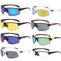 2020 جديد مصمم النساء الدراجات النظارات الشمسية الرياضة ليلة النظارات البصرية للرجال النساء تسلق ركوب الدراجة uv400 حملق النظارات