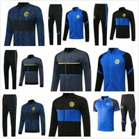 Kinder UTD Trainingsanzug Surverement Set City Football Jacket Kit Fußball Chandal 18 19 20 21 Inter United Jacket Training Hose Pullover Anzug