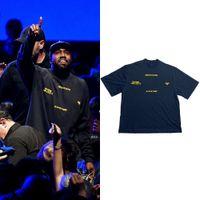 Été Kanye West T shirt Femmes Jésus est King 1: 1 T-shirts à manches courtes Harajuku 100% coton T-shirts Hommes T-shirts Urban-Vêtements x1227