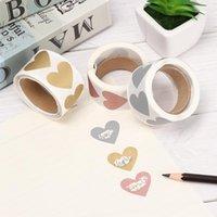 300pcs Love Heart Silver / Gold / Rose Scratch Off Adesivi Scratch Off Etichette Adesivo per Attività Party Favors Adesivo Cancelleria1