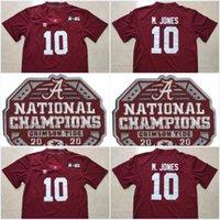 Ala # 6 Devona Smith 2021 Patch # 10 Mac Jones Championship 2020 # 22 Najee Harris # 17 Jaylen Waddle 150th Rement Rose Bowl Stitched Jerseys
