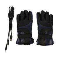 Горнолыжные перчатки 1 пара USB электрические нагретые зимние руки теплые водонепроницаемые термальные