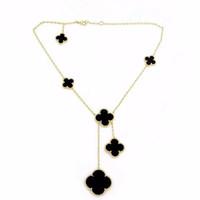 Grande e piccolo fiore collana di moda designer di lusso gioielli donne collane gioielli in acciaio inox gioielli collana di lusso collana fiore 2020