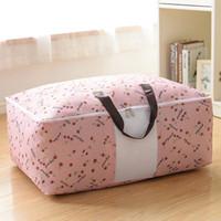 لحاف غير المنسوجة حقيبة التخزين الملابس طوي بطانية لحاف سترة منظم م / l / xl لحاف حقيبة حامل 87 G2