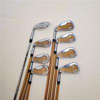 Brand New Golf Left Hand Club Katana Espada Golf Ferro e Wedge Graphite Golf Club SR Flex / 8pcs