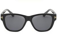 2021 Yeni Lüks En Kaliteli Yeni Moda 211 Tom Güneş Gözlüğü Adam Kadın Erkek Için Erika Gözlük Ford Tasarımcı Güneş Gözlükleri 0699 0713 Ücretsiz Kargo