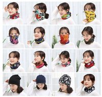 40 стилей многофункциональный волшебный шарф нагрудник зима женские шапки весна лето ветрозащитная маска для лица шеи охрана дикий шелковый шарф