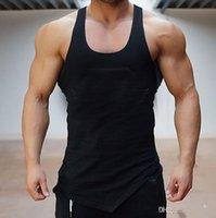 Kamizelka siłowni Mężczyźni Stringer Loa Bodybuilding Mięśni Sport Koszulka Kamizelka Bawełniana Bluza Body Engineers Plus Size