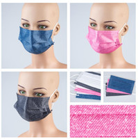 Adult Women Face Masks Solid Dust Facemask Color Protection ...