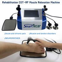 300W phisiotherapy CET RET diathermy teca body rehabilitation therapy tecar pain relief physiotherapy RF radio frequency machine