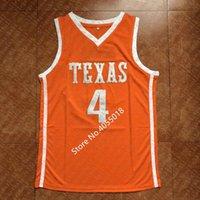 2019 Nuovo # 4 Mohamed Mo Bamba Taxas College Basketball Jersey cucito su misura personalizzati nome qualsiasi numero XS-5XL