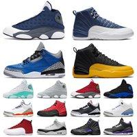 13s flint 2020 jumpman Университетский университет золото 12 каменный синий варьизм королевский 3 unc 3s фрагмент мужские женские баскетбольные туфли тренажеры кроссовки размером 13