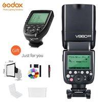 GODOX V860II-N 2.4G HSS 1 / 8000S Cámara inalámbrica I-TTL II Li-On Flash Speedlite + XPRO-N Transmisor inalámbrico para 1