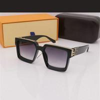LOUIS VUITTON LV 2021 nuovi occhiali da sole Occhiali da sole da uomo Occhiali da donna adumbrali UV400 Branded 5 colori di alta qualità con scatola