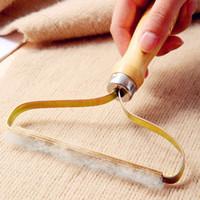 يدوي لينت مزيل الملابس الزغب النسيج الحلاقة المتقلب إزالة الأسطوانة أدوات تنظيف الشعر الأسطوانة البحر الشحن W73