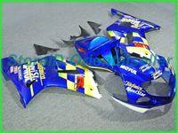 Custom Blue Amarelo AE012 Kit de Feira para Suzuki GSXR 600 750 K1 2001 2002 2003 GSXR600 GSXR750 01 02 03 Jogo de carestes da motocicleta